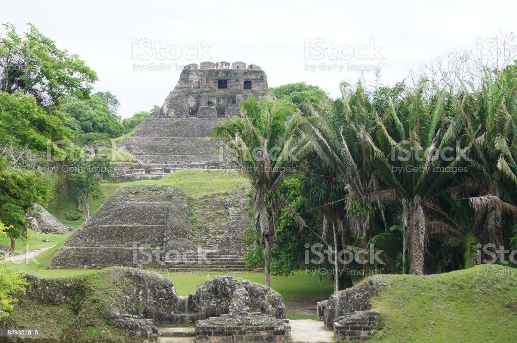 Xunantunich Mayan Ruin stock photo