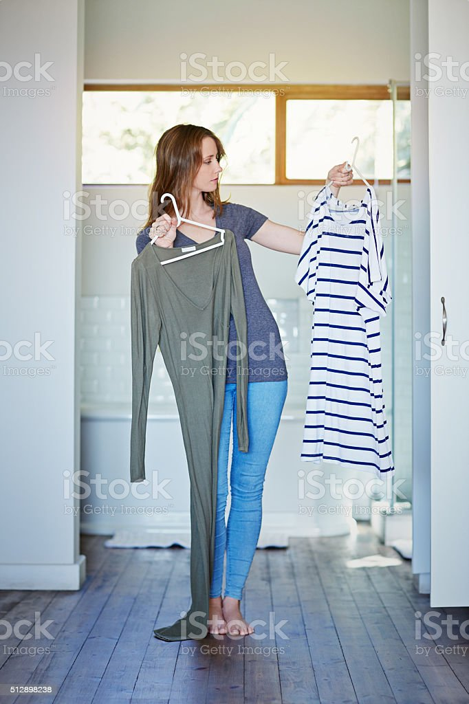Ya, I think this is the look for tonight stock photo