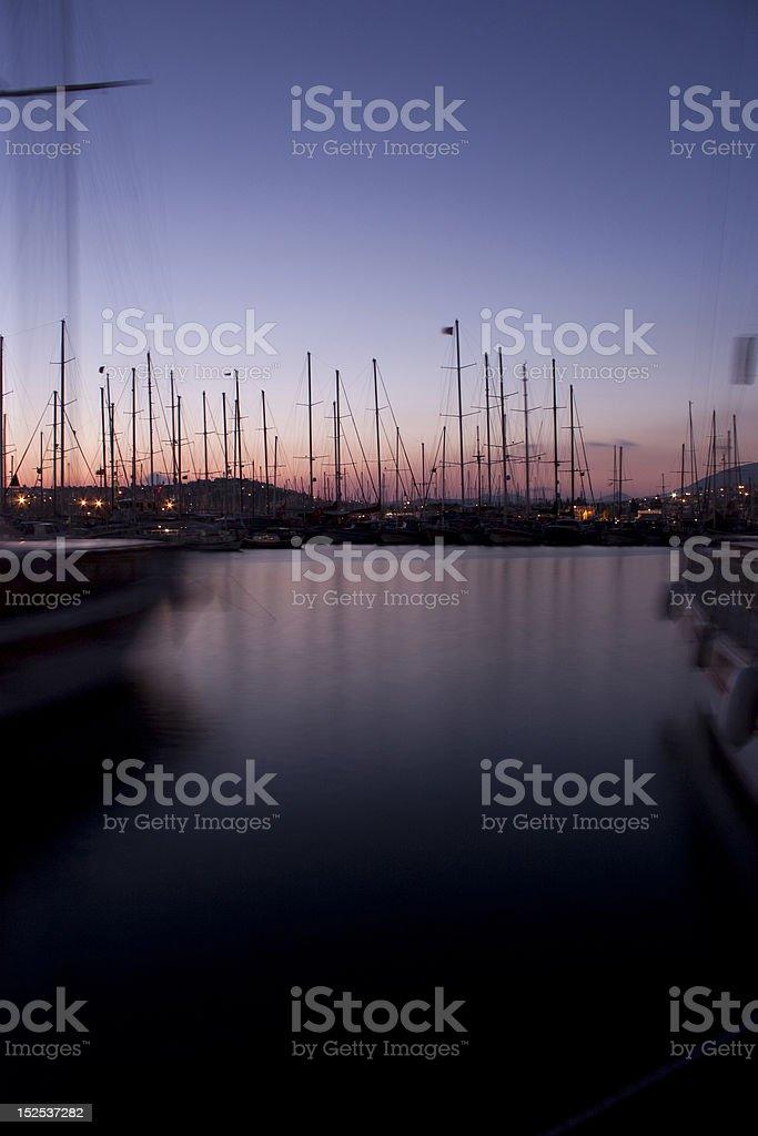 Yacht Club Marina royalty-free stock photo