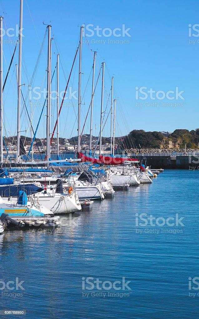 Yacht Harbor stock photo