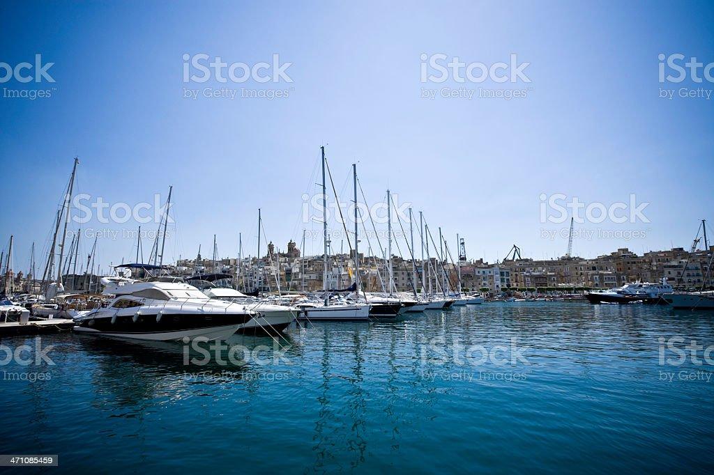 Yacht Marina royalty-free stock photo