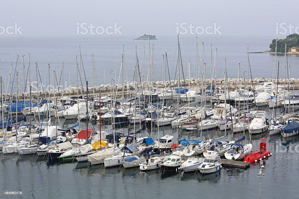 Yacht Marina stock photo