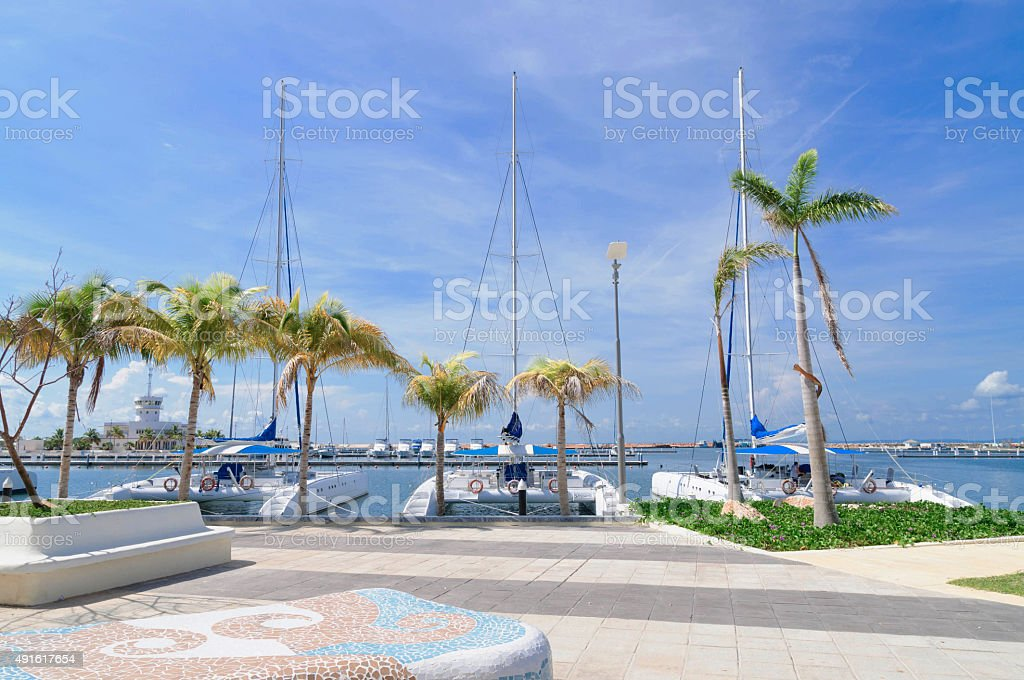 Yacht marine stock photo