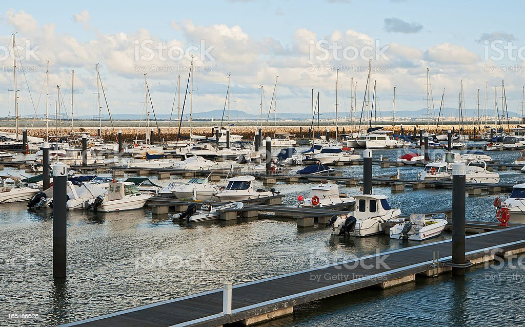 Yacht Parking royalty-free stock photo