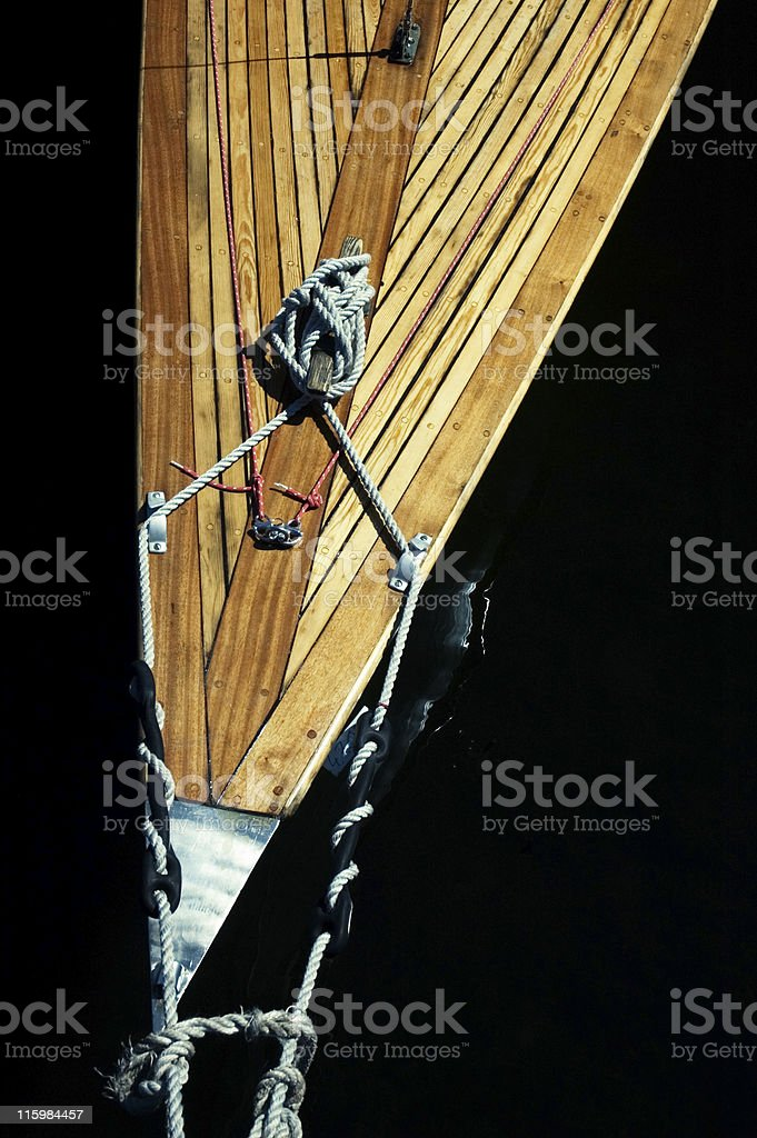 yacht stock photo