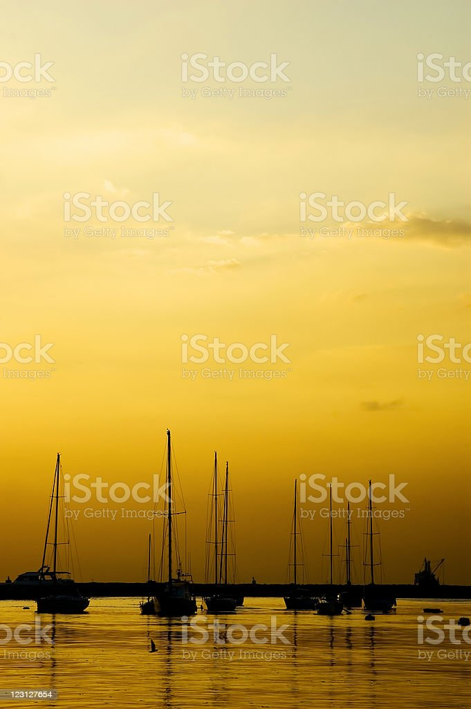 Yatch royalty-free stock photo