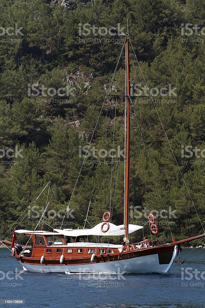 Yacht Lizenzfreies stock-foto