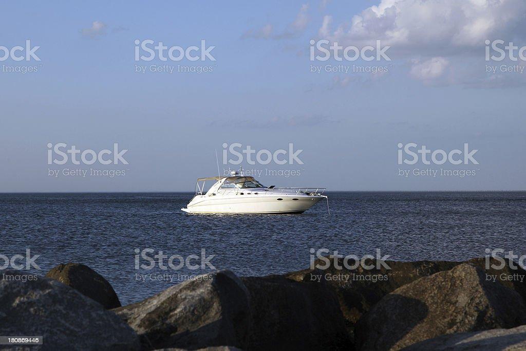 Yacht royalty-free stock photo