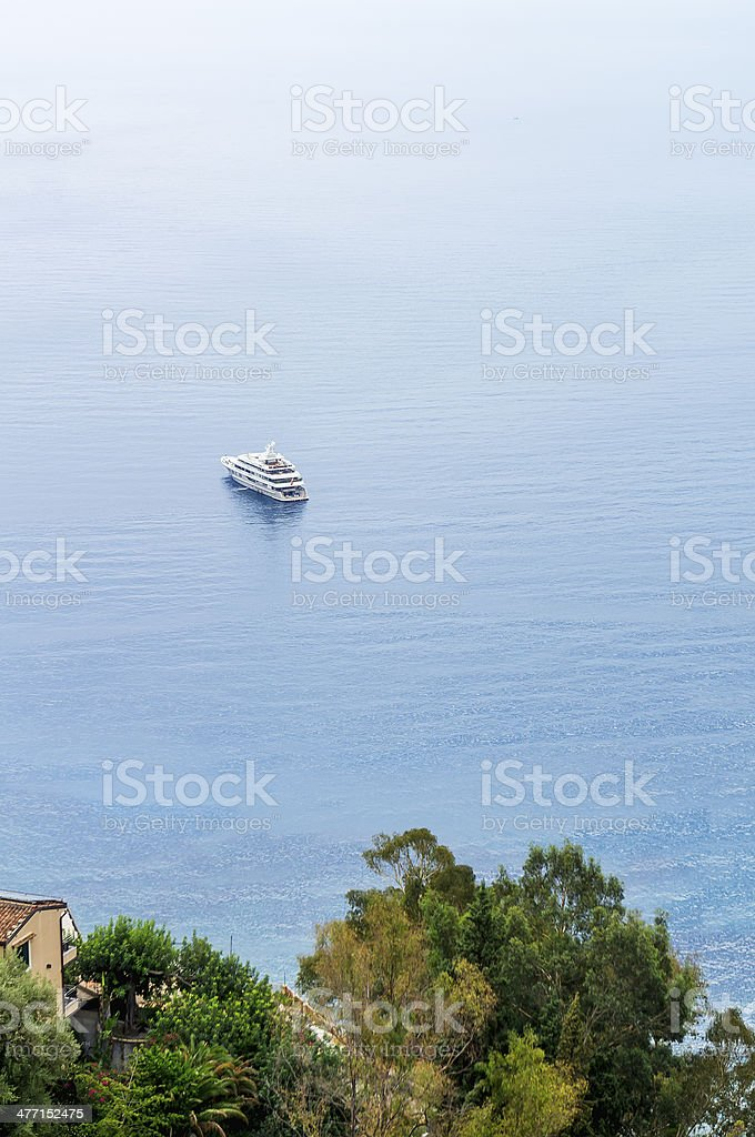 Yatch stock photo