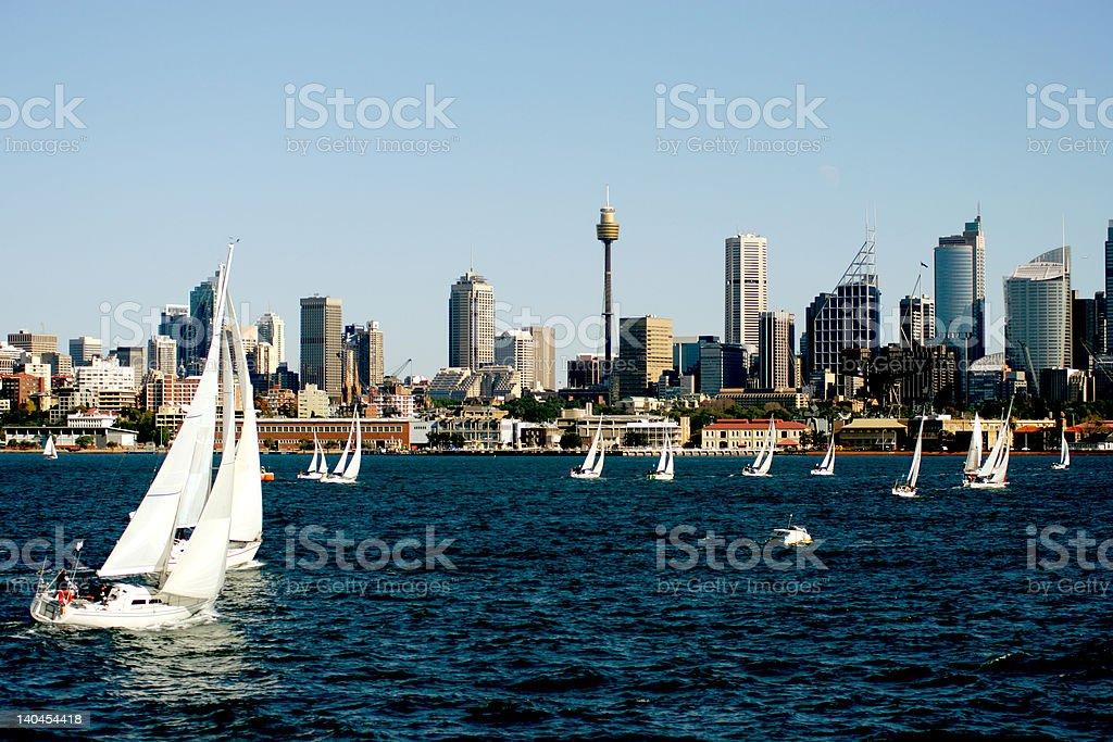 Yacht Regatta stock photo