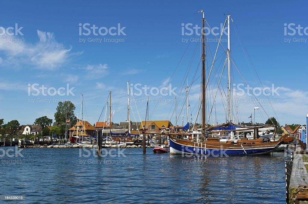 Yachthafen Masholm stock photo