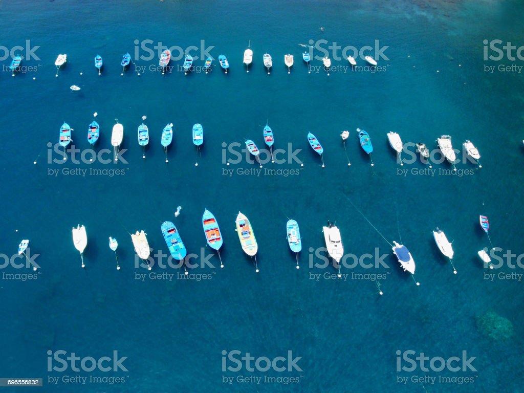 yachthafen stock photo