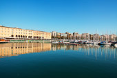 Yachting harbor and Catalonian Museum of History