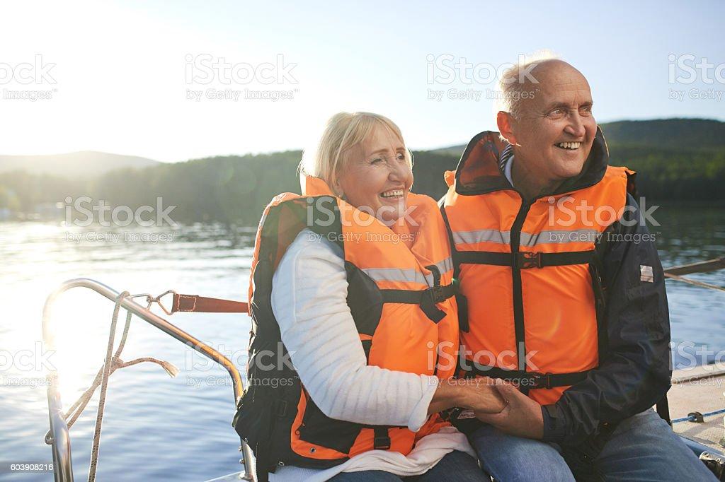 Yachting stock photo