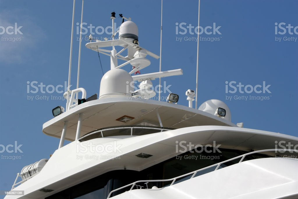 Yachts Guidance System royalty-free stock photo