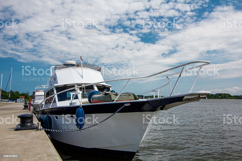 yachts in the port. stock photo