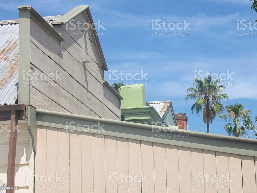 Yackandandah Rooftops stock photo