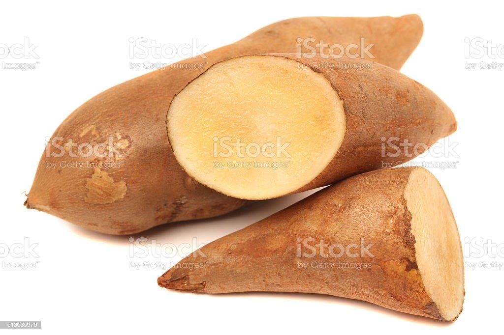 Yacon fruit herb healthy medicine salutary stock photo