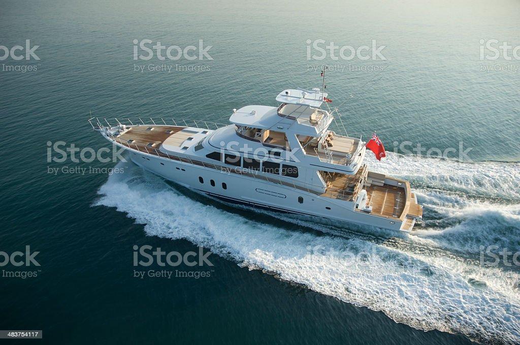 yacth royalty-free stock photo