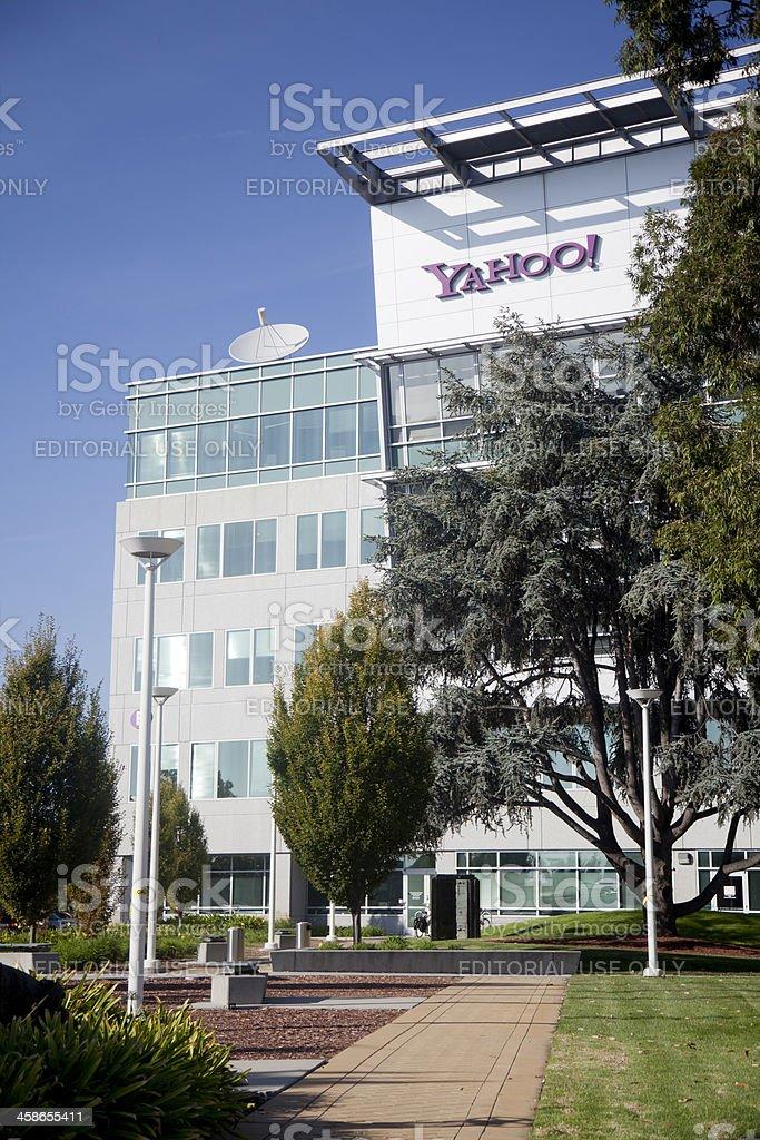 Yahoo Headquarters royalty-free stock photo