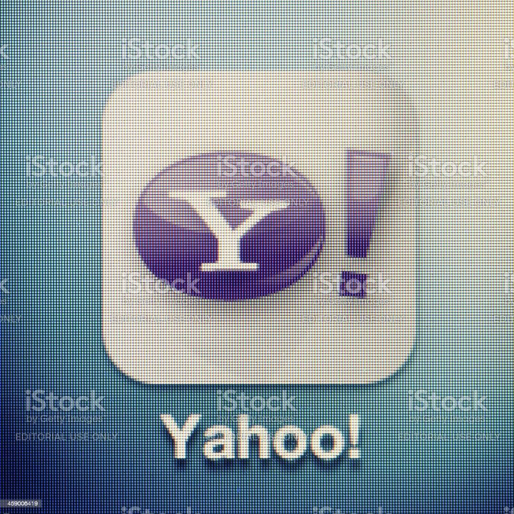Yahoo! stock photo