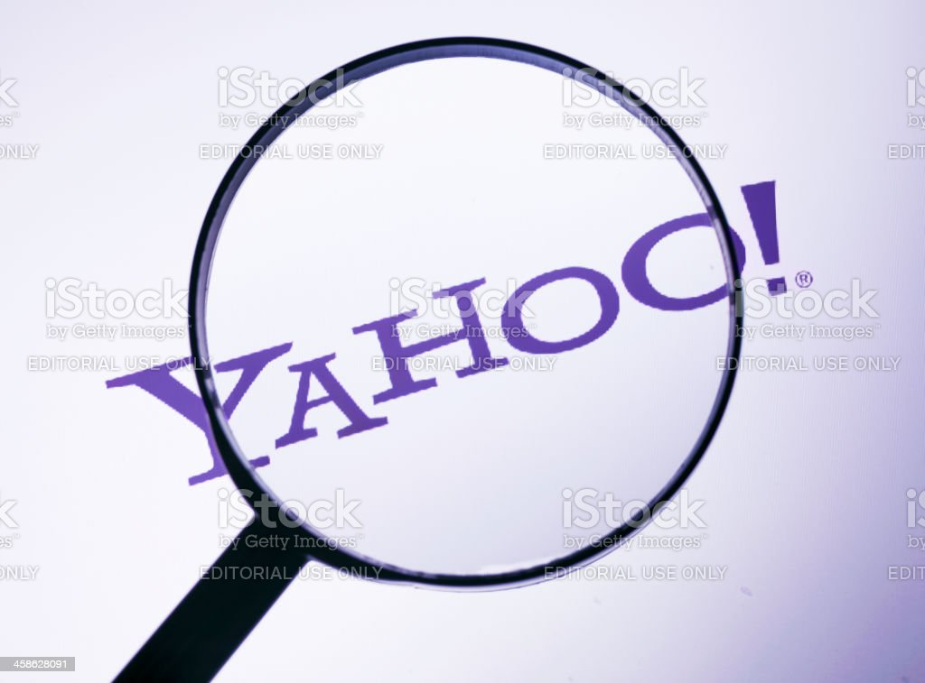 Yahoo search stock photo