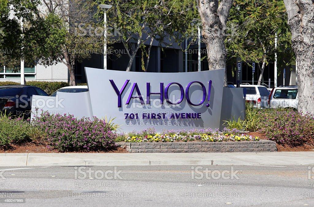 Yahoo! World Headquarters stock photo