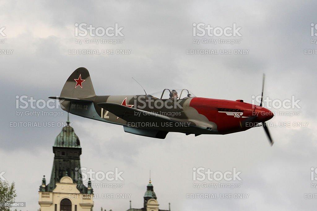 Yakovlev Yak-3 Combat Plane stock photo