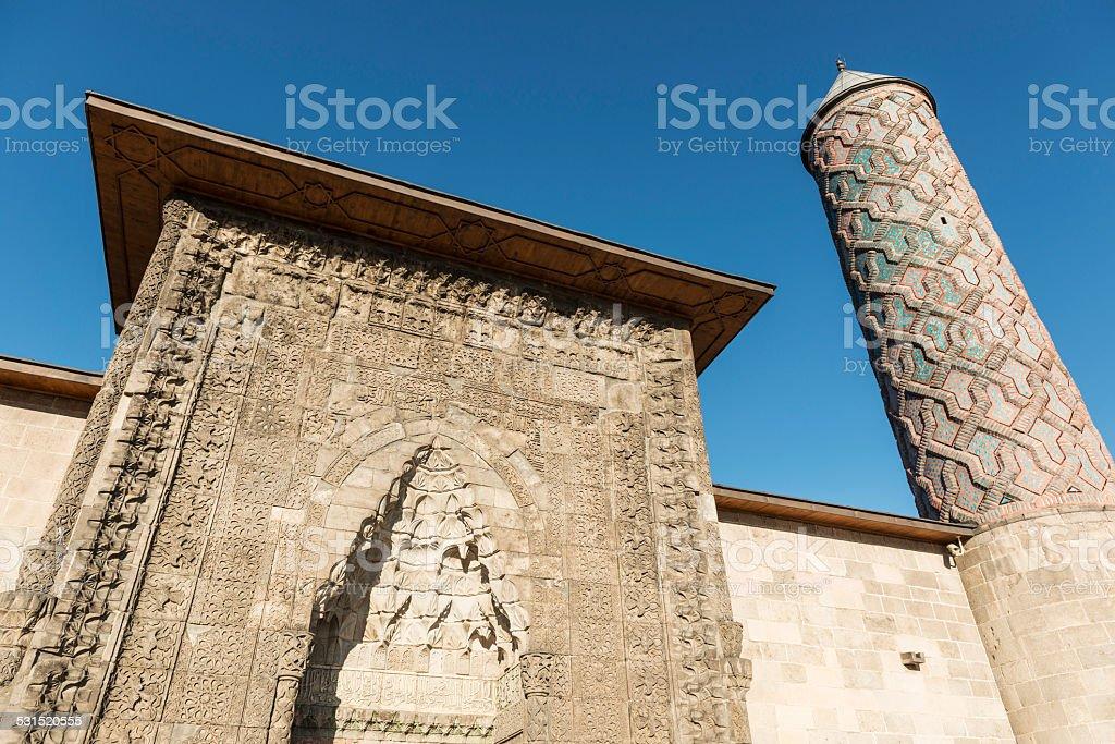 Yakutiye Medresse Erzurum Turkey stock photo