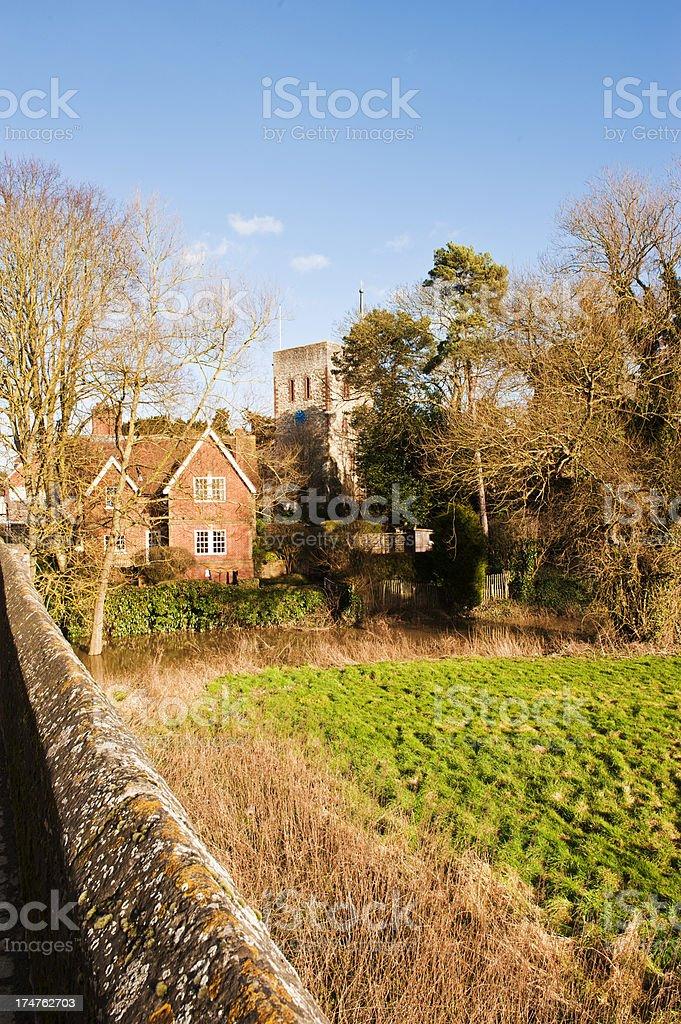 Yalding Village in Kent royalty-free stock photo