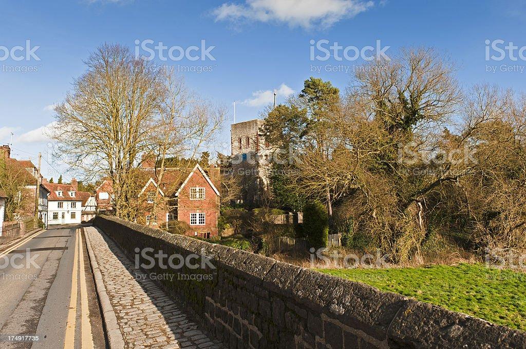 Yalding Village in Kent stock photo