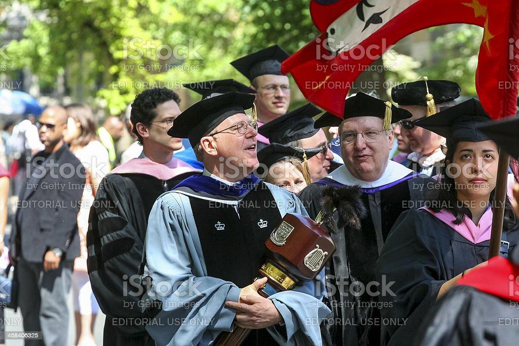 Yale University Graduation-2 royalty-free stock photo