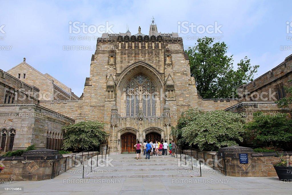 Yale University Library stock photo