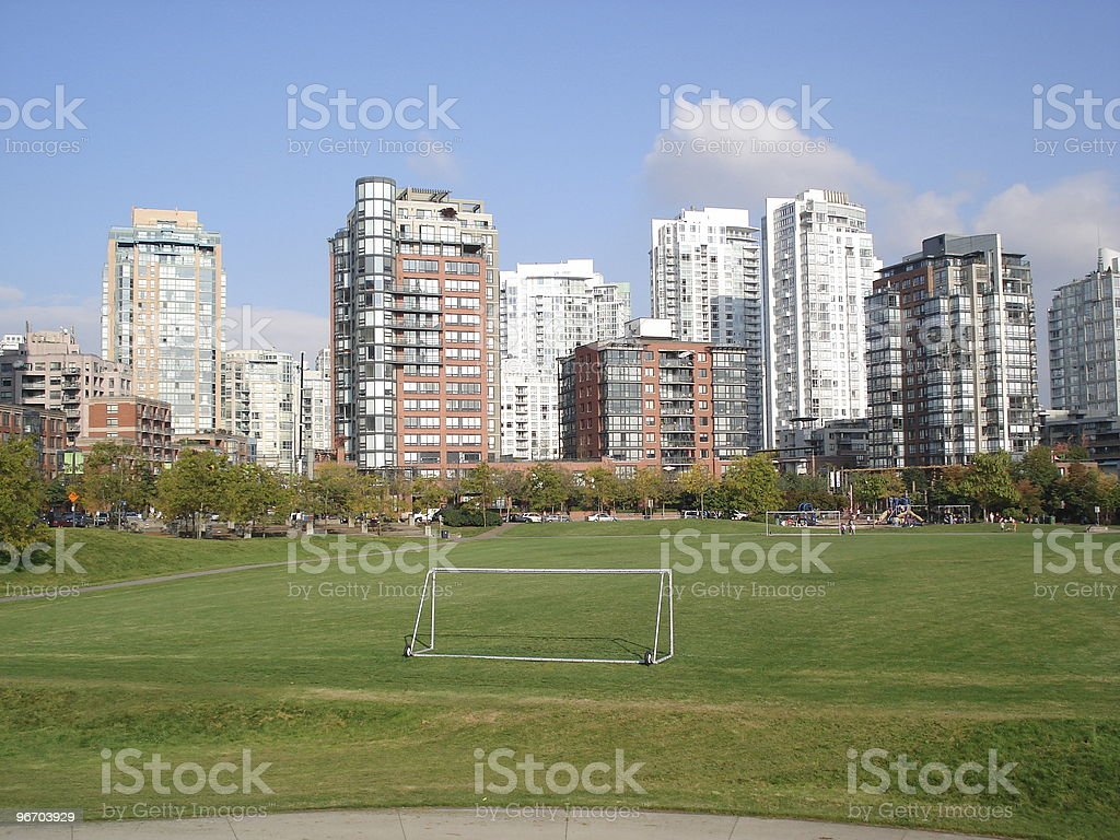 Yaletown, Vancouver royalty-free stock photo