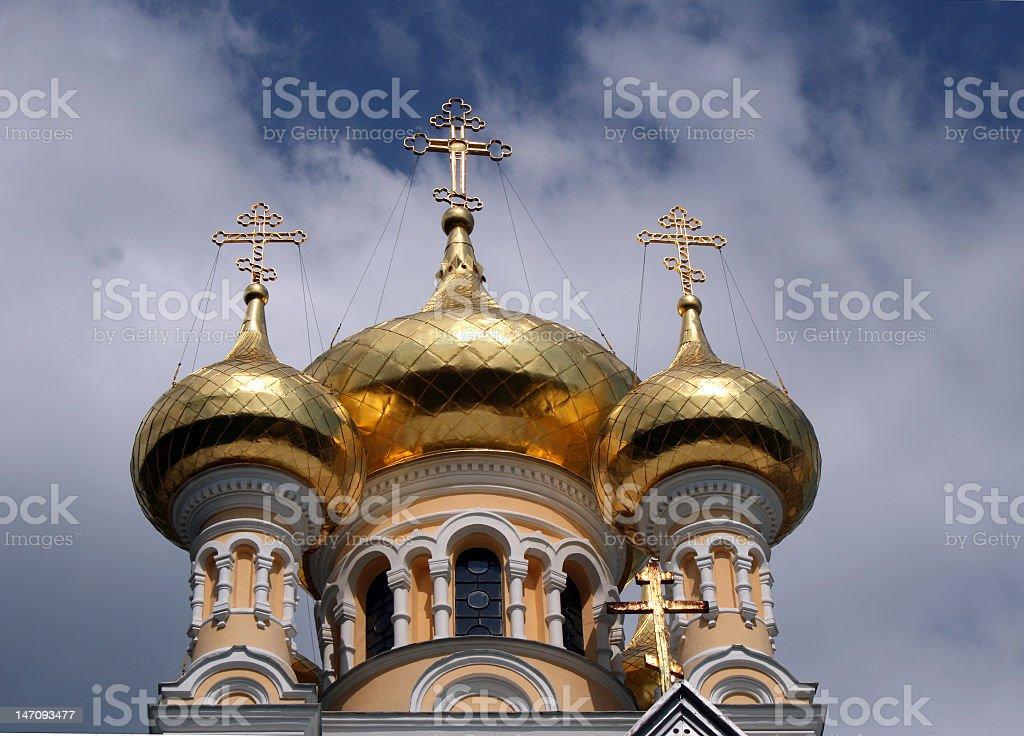 Yalta orthodox catherdral royalty-free stock photo