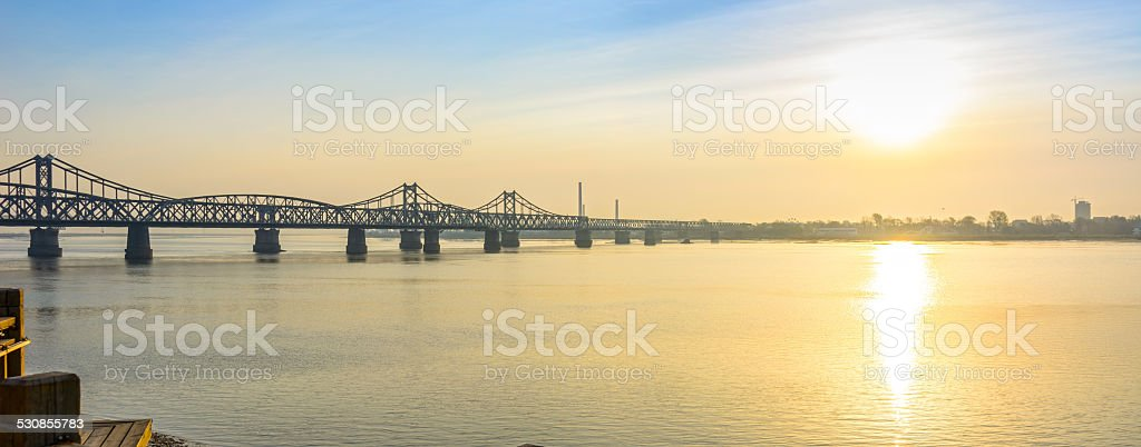 Yalu River Scenic Areas stock photo