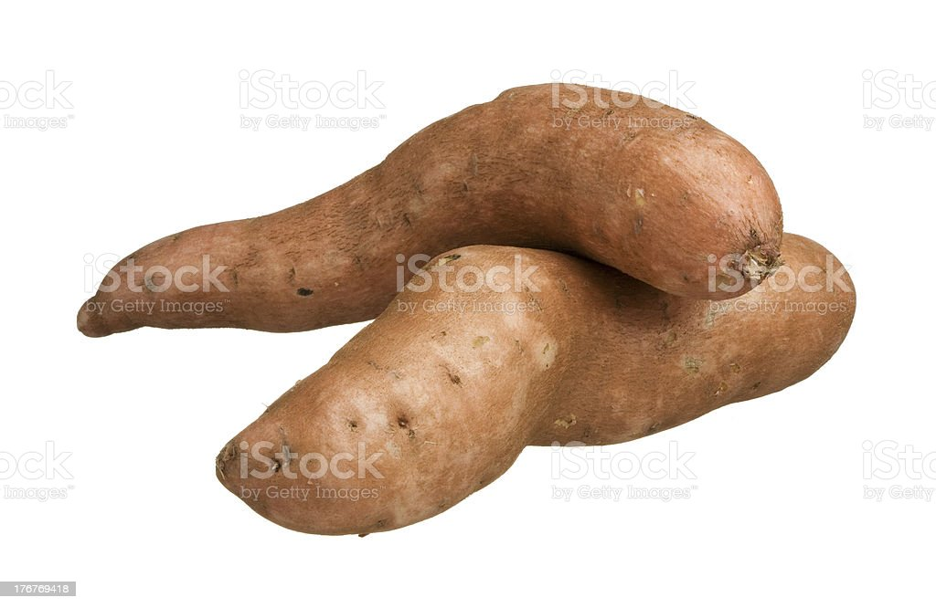 Yam royalty-free stock photo