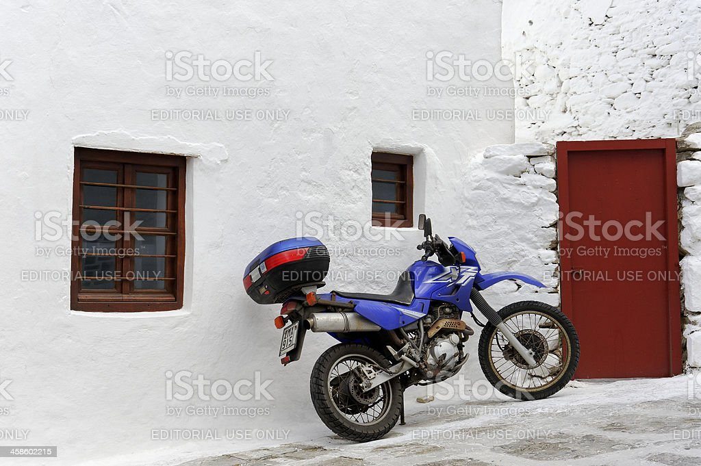 Yamaha Motor Cycle royalty-free stock photo
