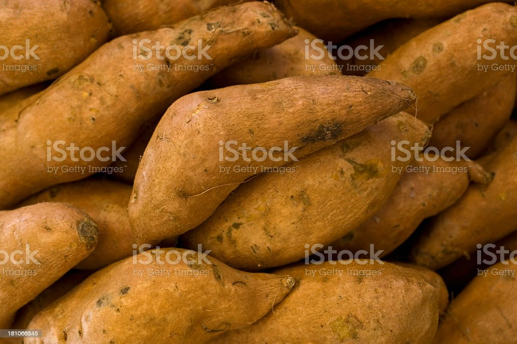 Yams royalty-free stock photo