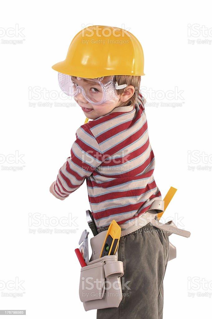 Yang Builder royalty-free stock photo
