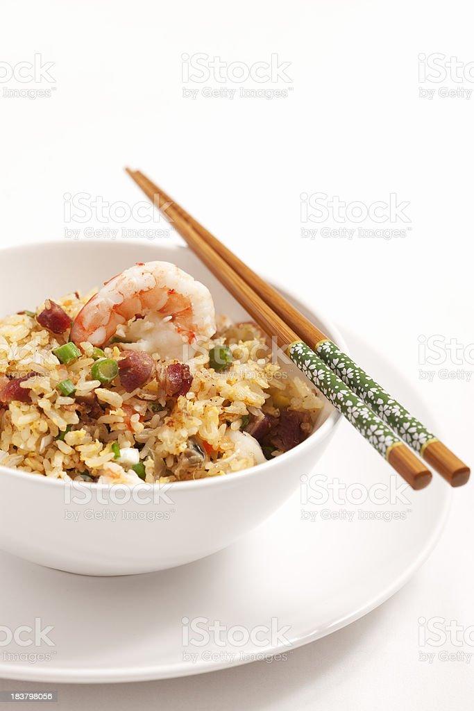 Yang Zhou Fried Rice royalty-free stock photo