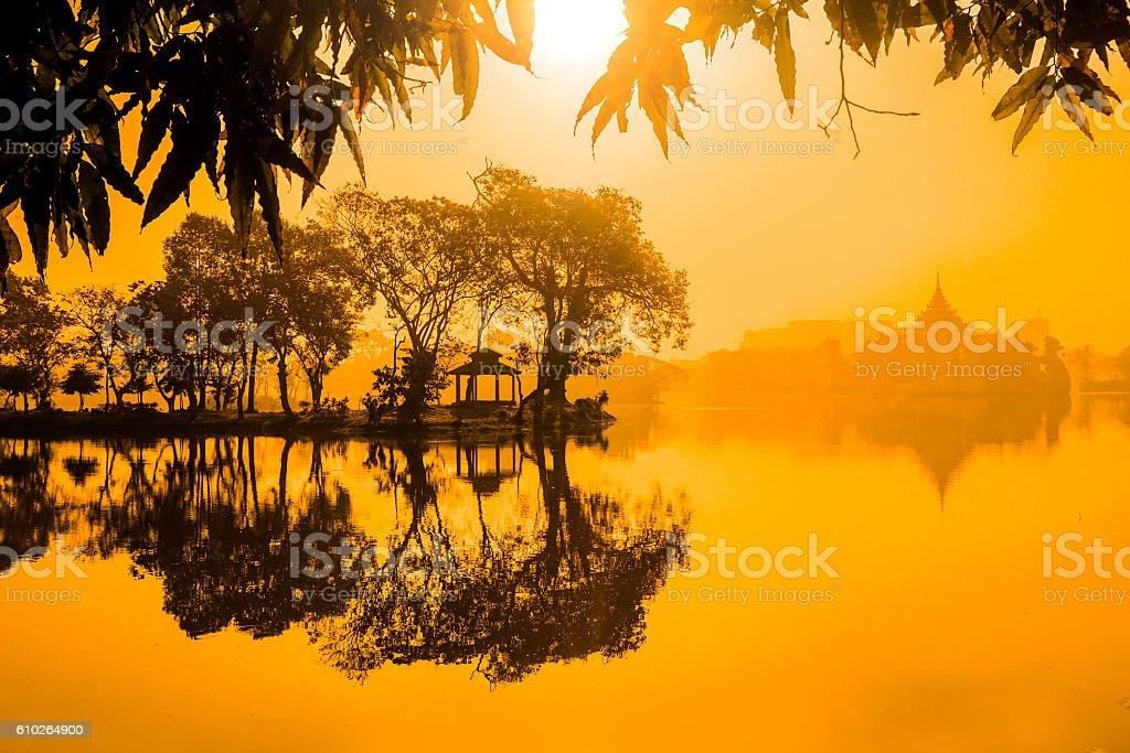 Yangon Myanmar stock photo