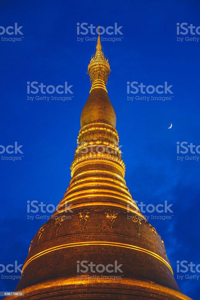 Yangon Pagoda stock photo