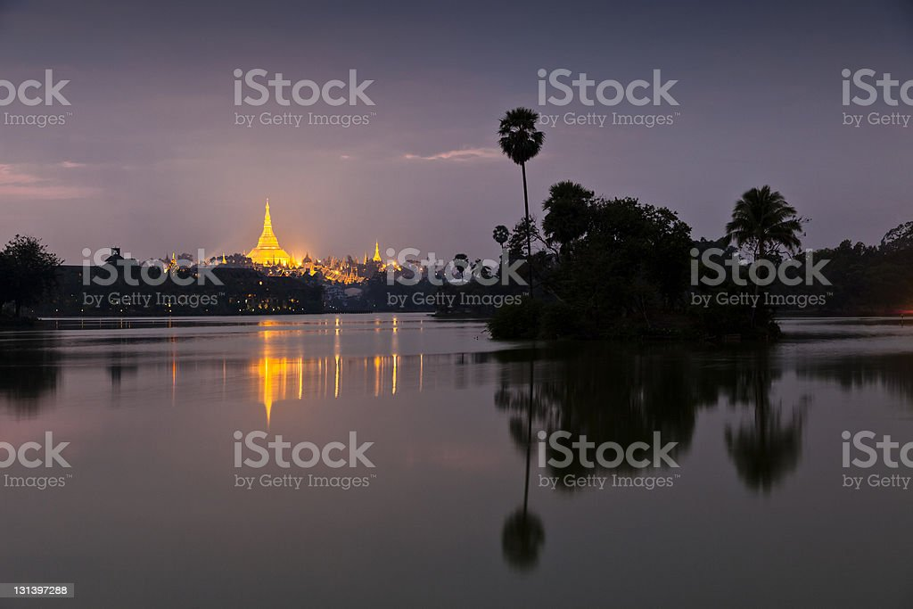 Yangoon royalty-free stock photo