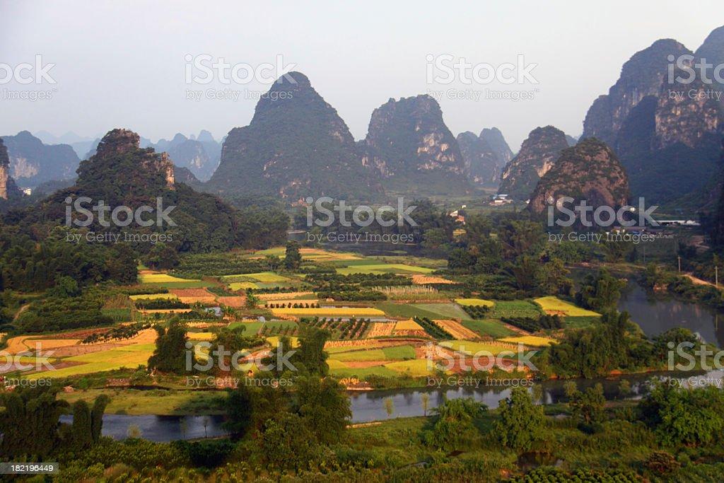 Yangshuo royalty-free stock photo