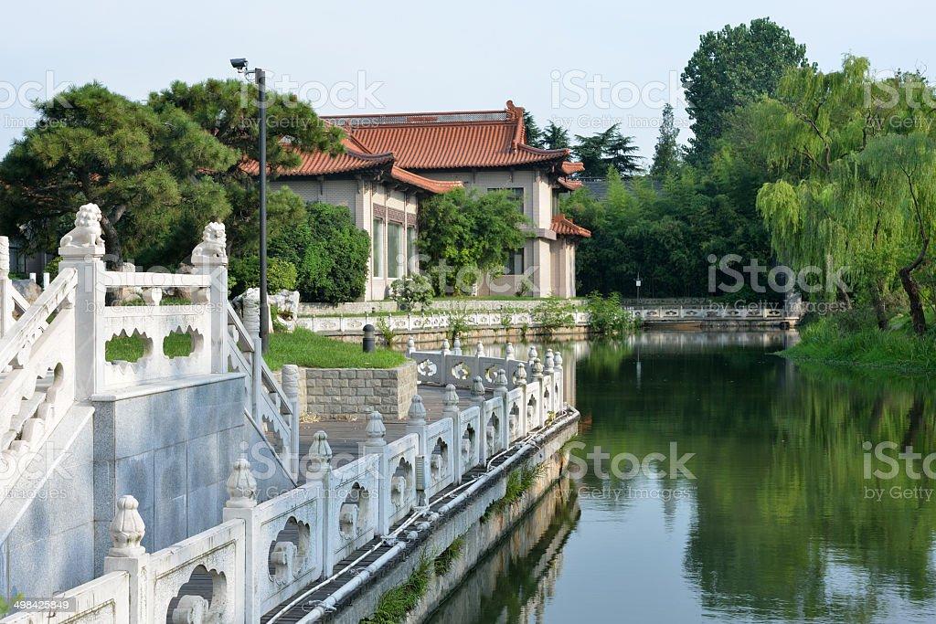 Yangzhou Guesthouse in China stock photo