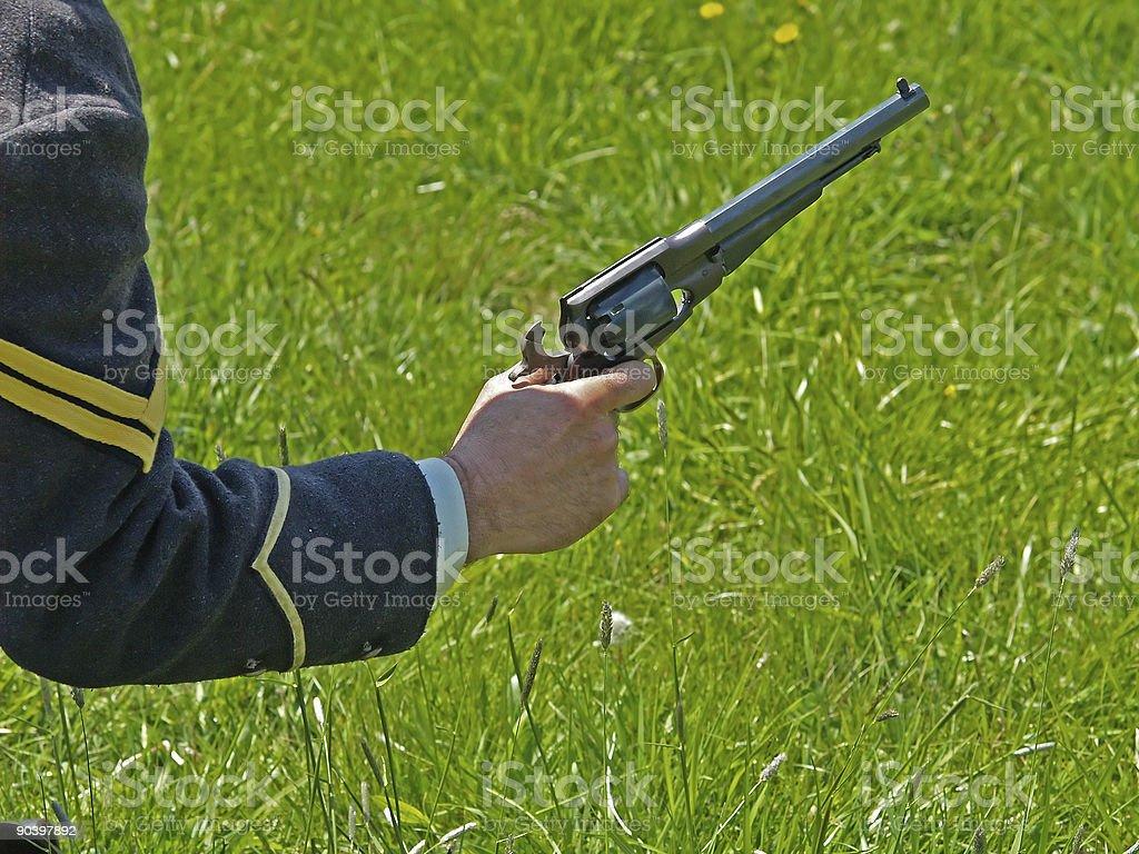 Yankee Pistol stock photo
