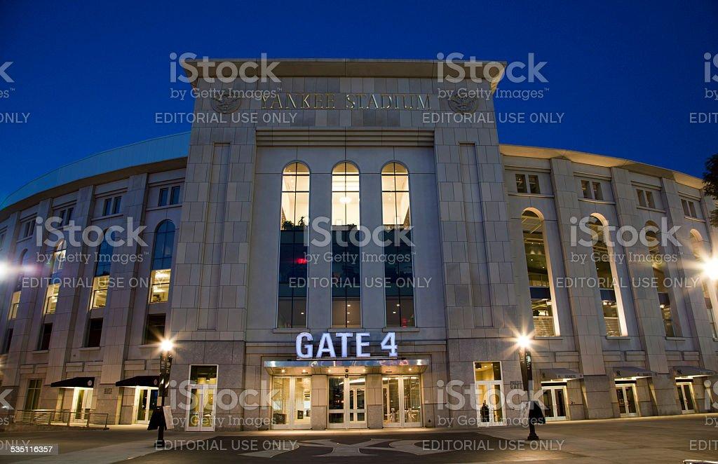 Yankee Stadium in the Bronx New York stock photo