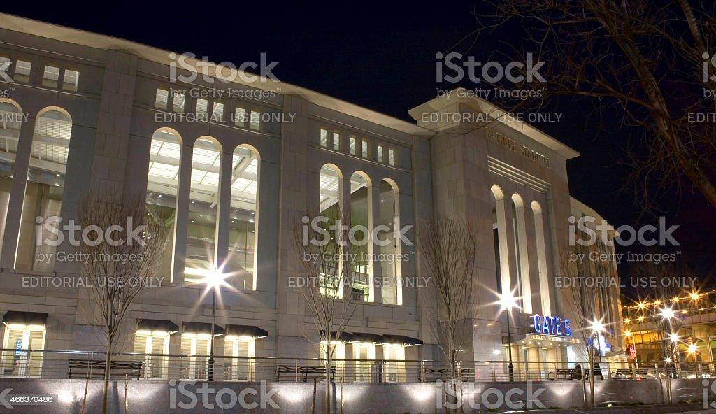 Yankee Stadium stock photo