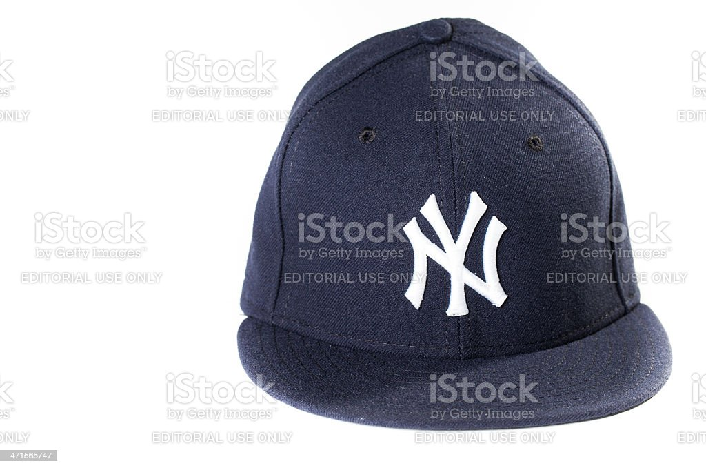 Yankees Baseball Cap royalty-free stock photo